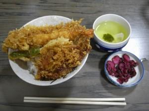 大和屋さんの天丼