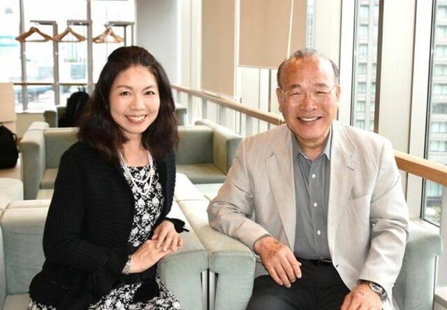 中川千都子さんと筆者神渡良平