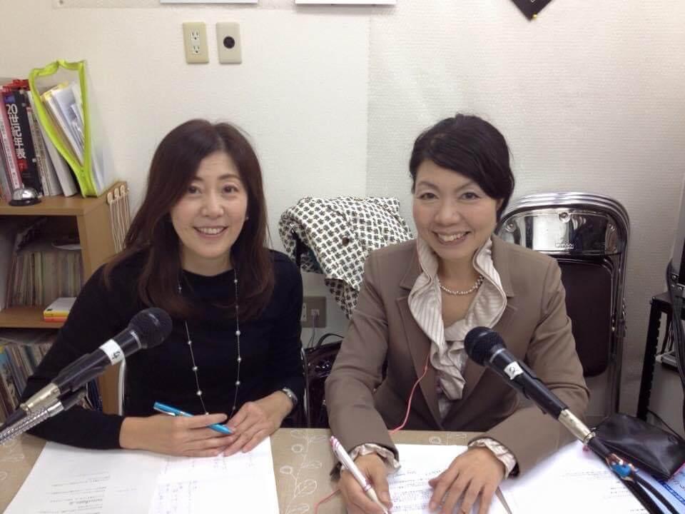 中川さんのラジオ番組の収録